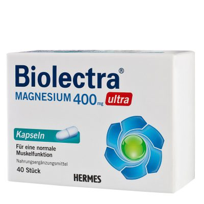 Biolectra mg 400 ultra cps.a40