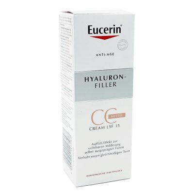 Eucerin hyaluron cc tonirana krema tamna 50ml
