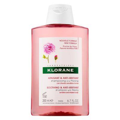 Klorane šampon za iritirano vlasište božur 200ml