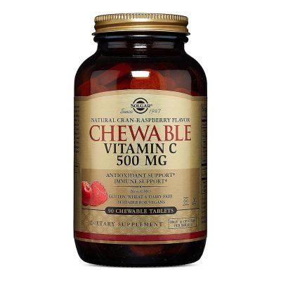 Solgar vitamin c 500 za žvakanje