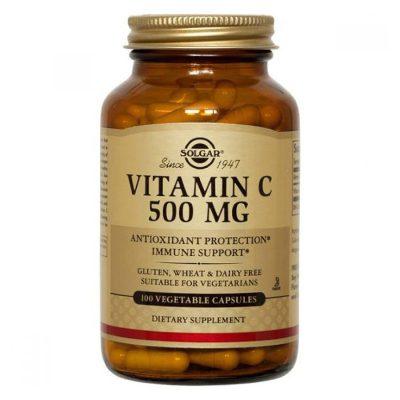 Solgar vitamin c cps 100x500mg