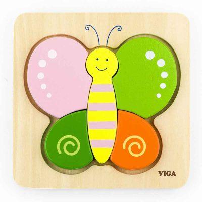 Viga leptir puzle