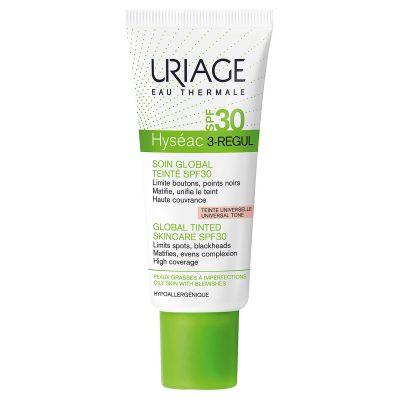 Uriage hyseac 3-regul tonirana emulzija spf30 40ml