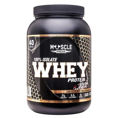 Muscle freak 100% isolate whey strawberry 1kg