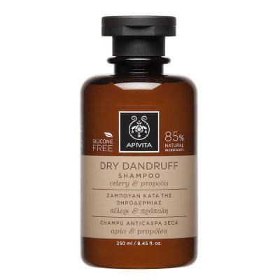 Apivita šampon protiv suhe peruti 250ml