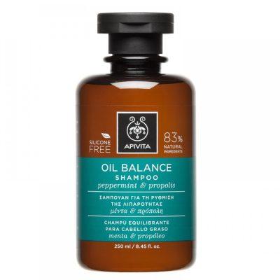 Apivita šampon za masnu kosu 250ml