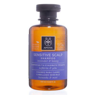 Apivita šampon za osjetljivu kosu 250ml