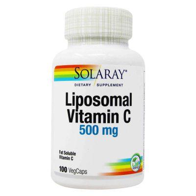Solaray liposomalni vitamin c a100