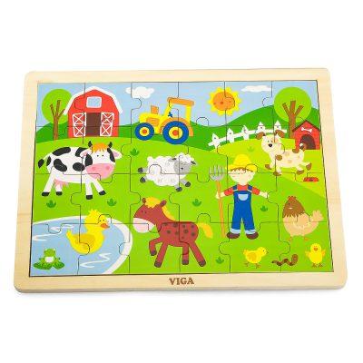Viga puzle farma domace životinje