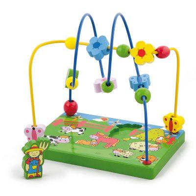 Viga didaktička igračka farma 59664
