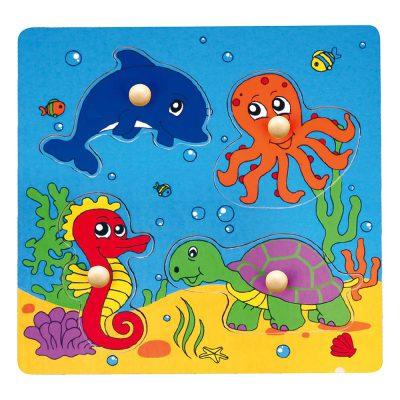 Viga puzle morske životinje a4 59564