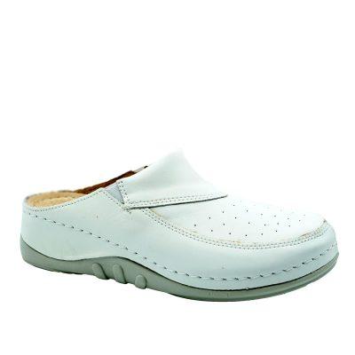 Kopitarna papuča n734 bijela