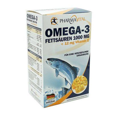 Omega 3 1000mg + vit e pharmavital