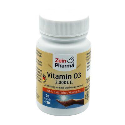 Vitamin d3 2000 i.e zeinpharm a 90