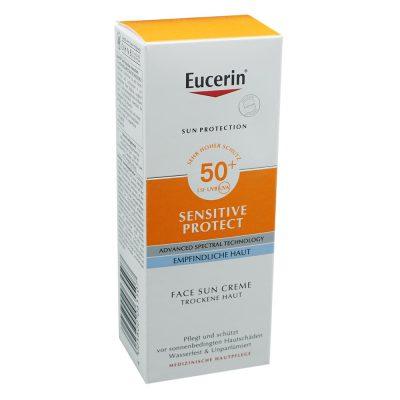 Eucerin sun krema za lice spf50+ 50ml