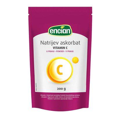 Encian vitamin c u prahu 200g