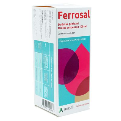Ferrosal suspenzija 100ml