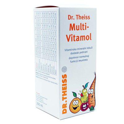Dr.theiss multivitamol sirup 200ml
