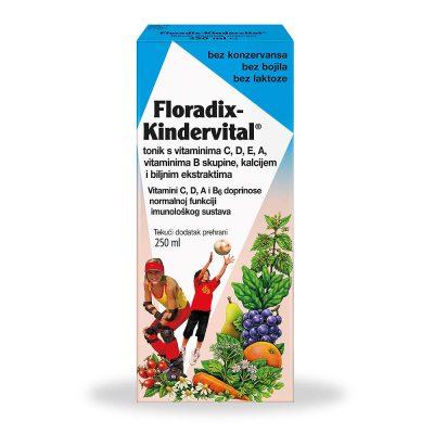 Floradix kindervital sirup za djecu 250ml