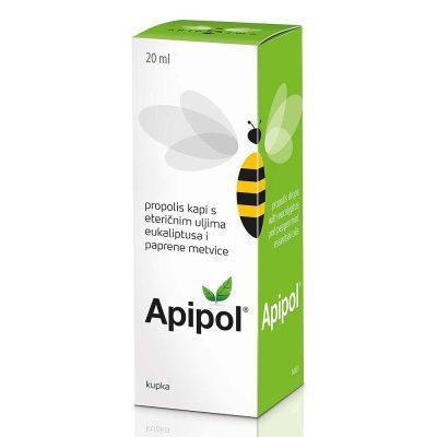 Api-apipol kapi s eteričnim uljima 20ml