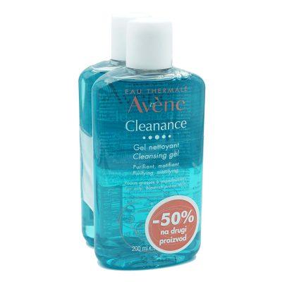 Avene cleanance gel 200ml(-50%) na drugi
