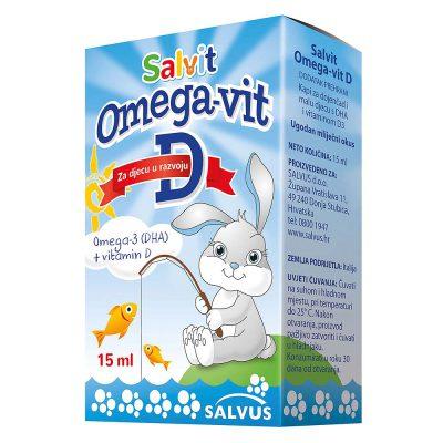 Salvit omega+vitamin d kapi 15ml