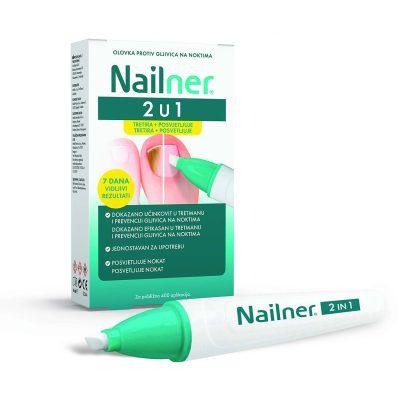 Nailner olovka 2u1 protiv gljivica na noktima 4ml