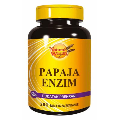 N.w. papaja enzim a 250
