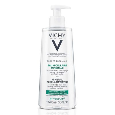 Vichy micelarna water oily skin 400ml