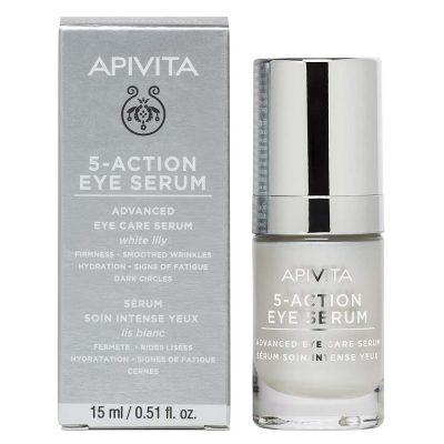 Apivita 5 action serum oko očiju 15ml