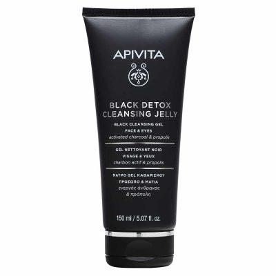 Apivita black detox gel za čišćenje 150ml