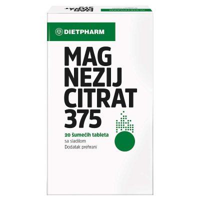Dietpharm mg citrat eff tbl a20
