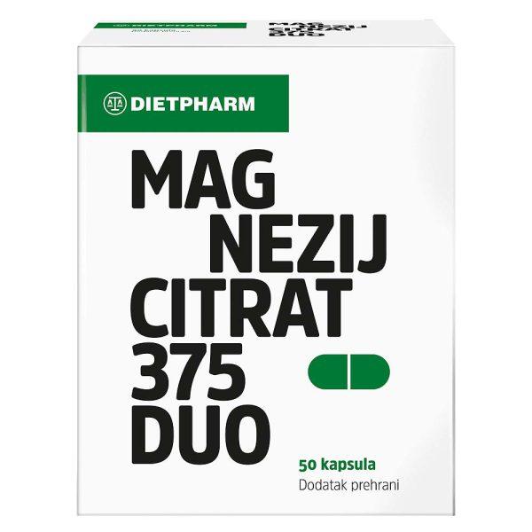 Dietpharm mg citrat cps a50