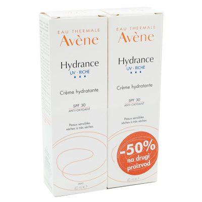 Avene hydrance uv riche duo (-50%na drugi)