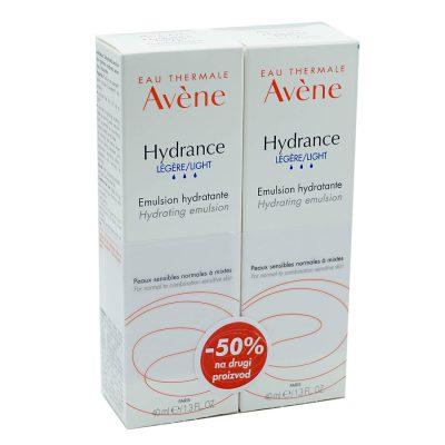 Avene duo hydrance legere (-50%na drugi)