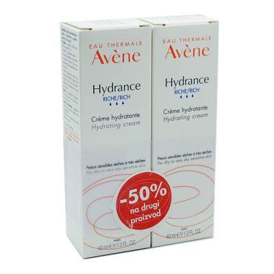 Avene duo hydrance riche (-50%na drugi)