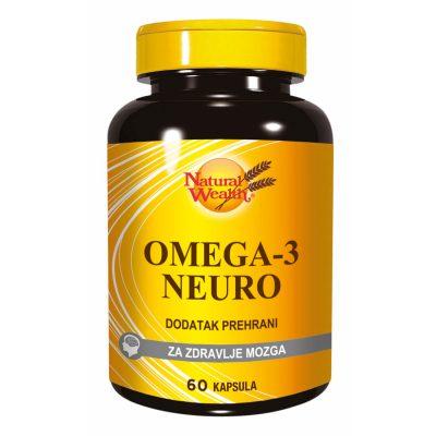 N.w. omega-3 neuro 60's