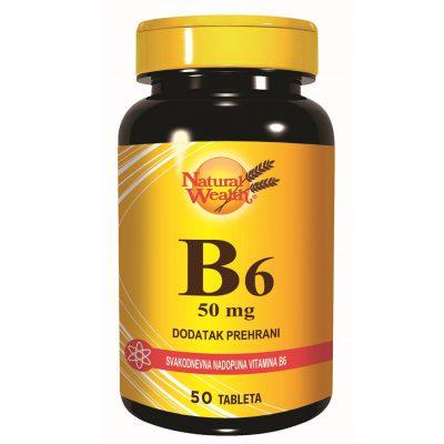 N.w. vitamin b6 cps 50x50mg
