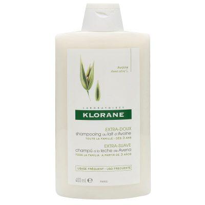 Klorane šampon za često pranje kose zob 400ml