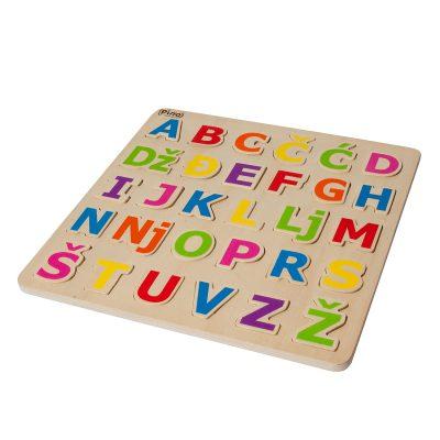 Pino abeceda drvena