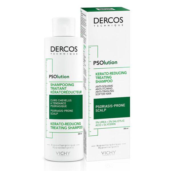 Vichy dercos šampon za vlasište sklono psorijazi 200ml