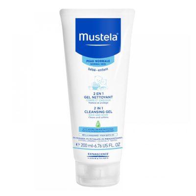 Mustela 2u1 gel za pranje kose i tijela 200ml