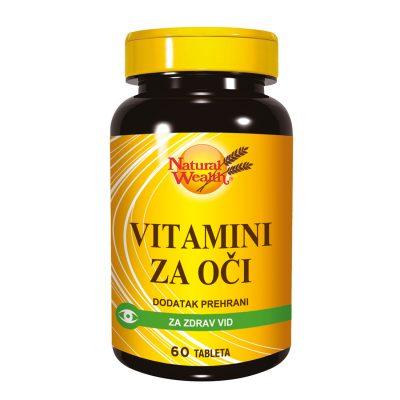 N.w. vitamin za oči tbl. a 60